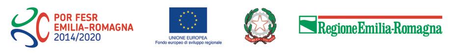 Logo Regione Emilia-Romagna POR FESR 2014-2020